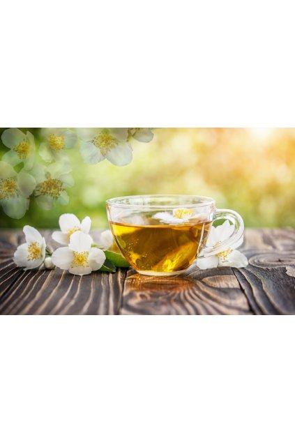 Zelený čaj s jasmínem