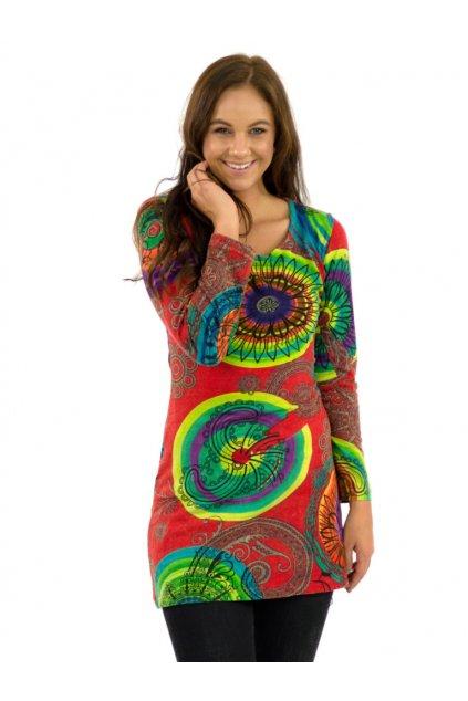 Tunika / šaty Laie - červené