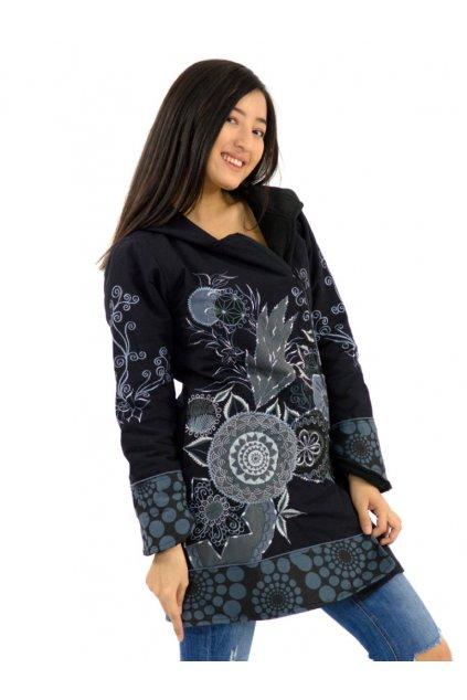 Podzimní/zimní kabát Heena - šedá