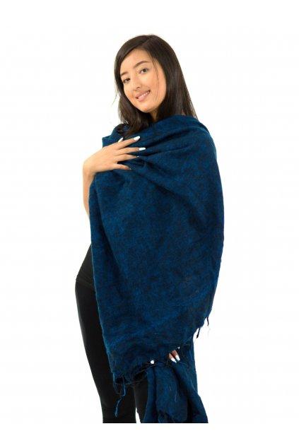Deka/pléd Yak wool Nepal 26