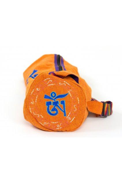 Obal na jógamatku OHM - oranžová