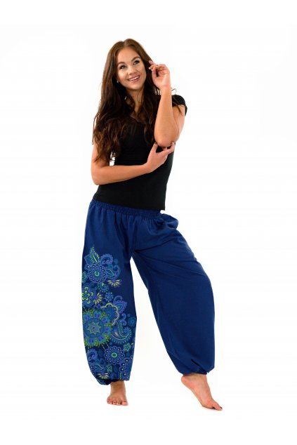 Kalhoty Hanauma - modré