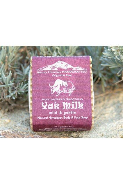 Ručně vyrobené mýdlo Yak Milk