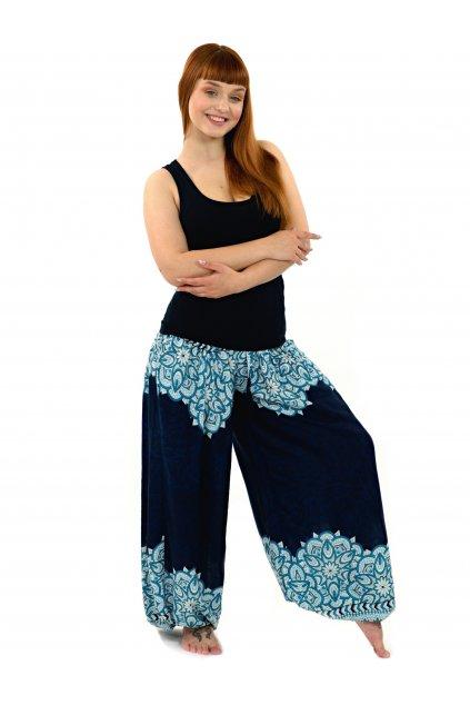 Kalhoty Tiaki - tmavě modré