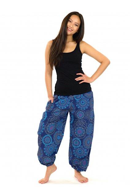 Kalhoty Kalea - modrá s fialovou