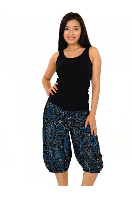 Kraťasy Keliana - černá s modrou