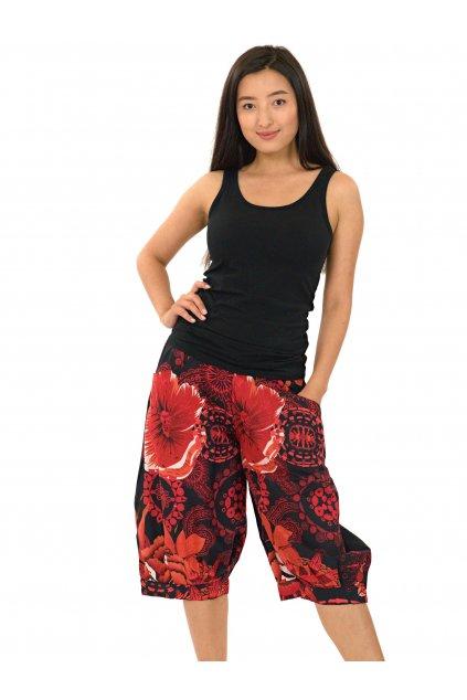 Kraťasy Eiwa - černé s červenou