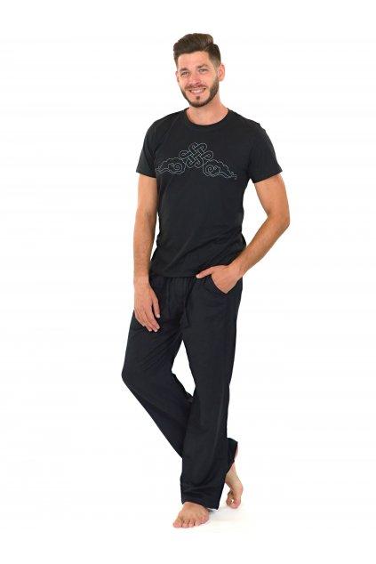 Kalhoty Keanu - černé