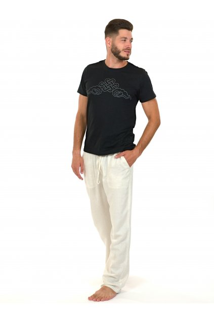 Kalhoty Keanu - béžové