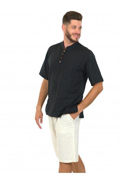 Pánská košile Kahuna - černá