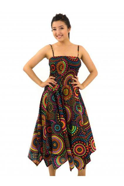 Šaty-sukně 2v1 Dawa Dot - černé