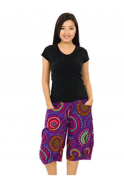 Kraťasy Thapa Dot - fialové