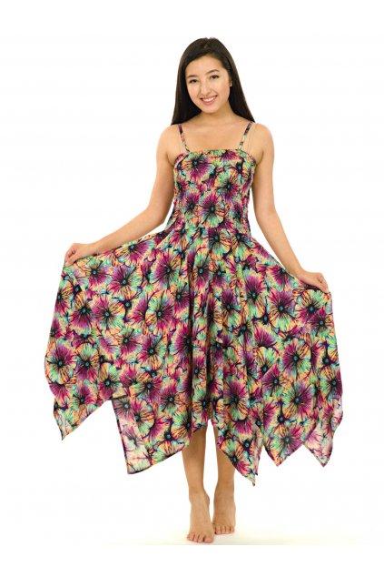 Šaty-sukně 2v1 Dawa Lanai - barevné