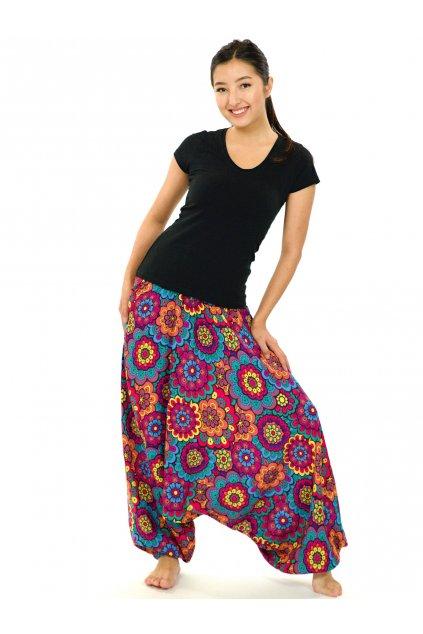 Kalhoty-šaty-top 3v1 Makani - barevné