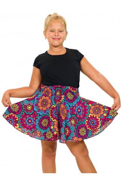 Dětská kolová sukně - Makani