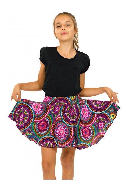 Dětská kolová sukně - Tehani