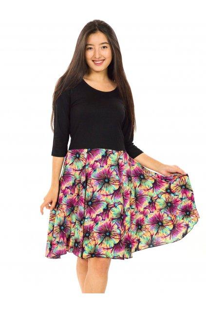 Šaty Lanai s 3/4 rukávem - barevné