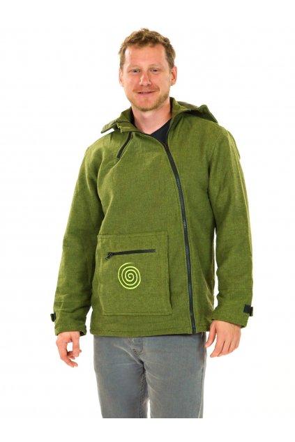 Zateplená bunda Tenzin - zelená