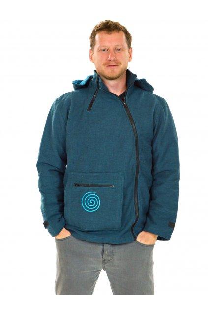 Zateplená bunda Tenzin - modrá