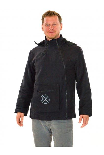 Zateplená bunda Tenzin - černá