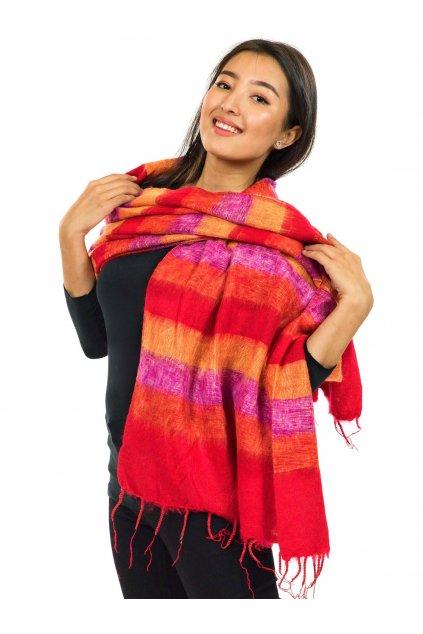 Hřejivá šála Yak wool 4