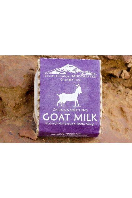 Ručně vyrobené mýdlo - Kozí mléko