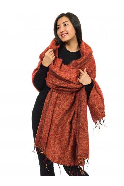 Deka/pléd Yak wool Nepal 45
