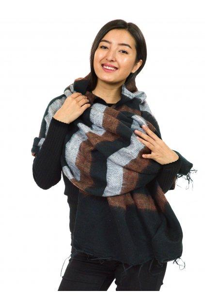 Hřejivá šála Yak wool 63