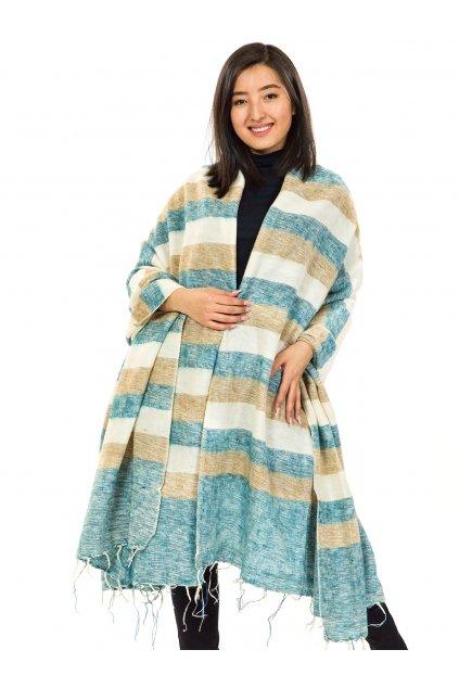Deka/pléd Yak wool Nepal 53