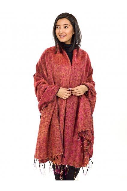 Deka/pléd Yak wool Nepal 51