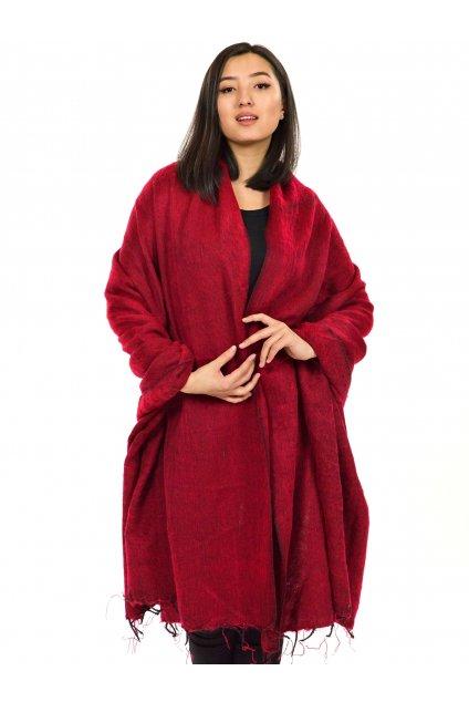 Deka/pléd Yak wool Nepal 55