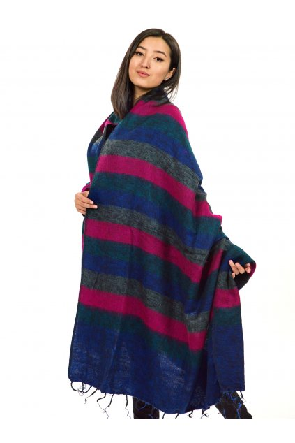 Deka/pléd Yak wool Nepal 58