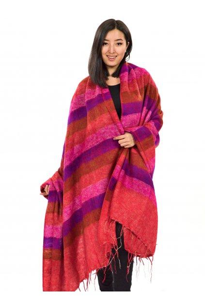 Deka/pléd Yak wool Nepal 59