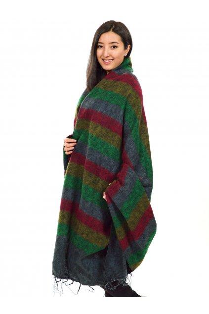 Deka/pléd Yak wool Nepal 60