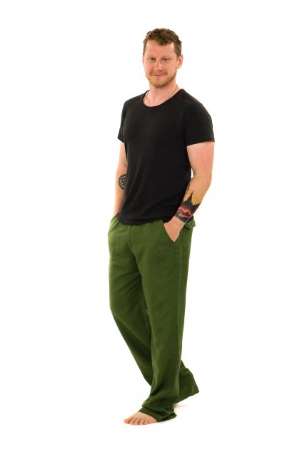 Kalhoty Keanu - zelené