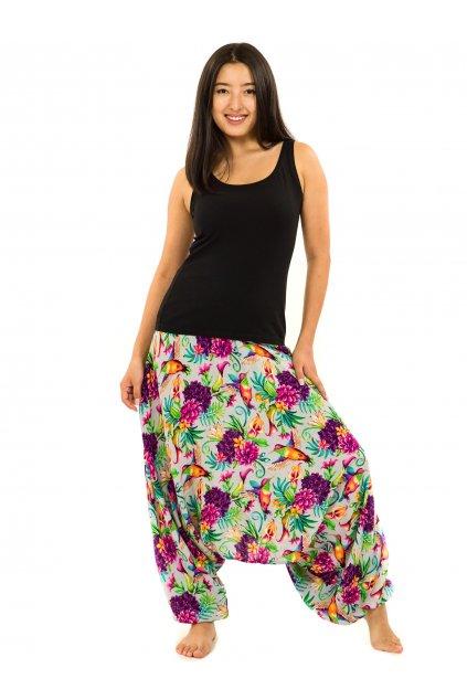 Kalhoty-šaty-top 3v1 Tahanea - šedá
