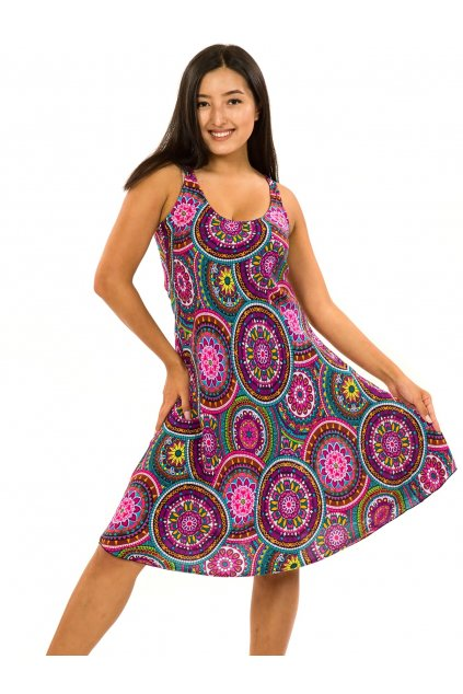 Šaty Ava Tehani - barevné