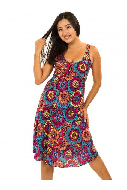Šaty Ava Makani - barevné