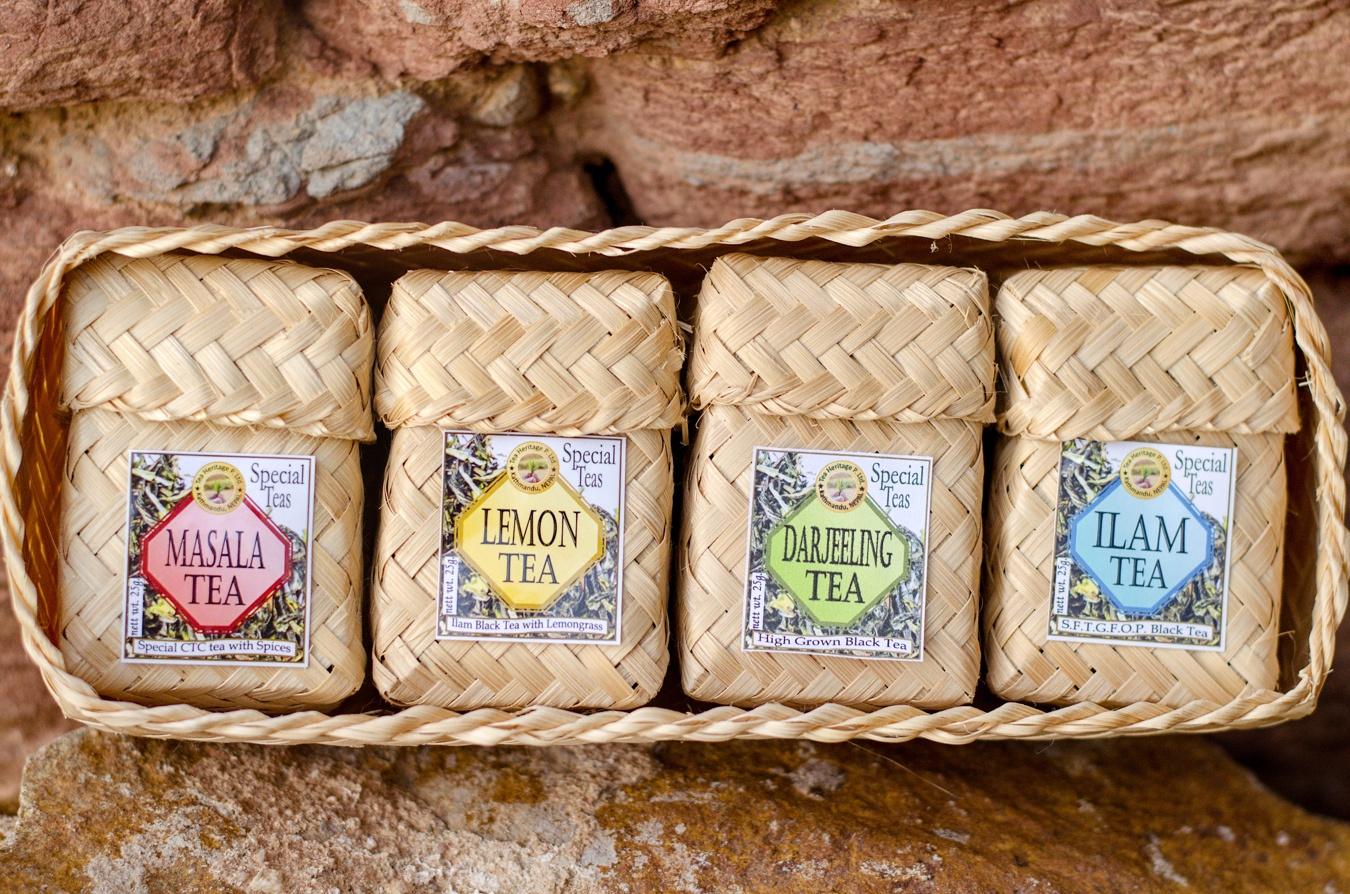 Himalife Čtyři druhy čajů v dárkovém balení