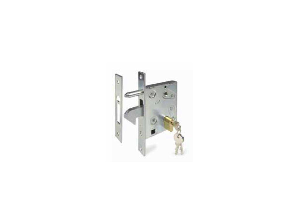 Hákový zámek pro posuvné brány