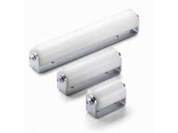 Rolny vodící bílé nylonové