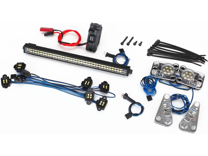 Led osvětlení pro model Traxxas TRX-4 Land Rover Defender