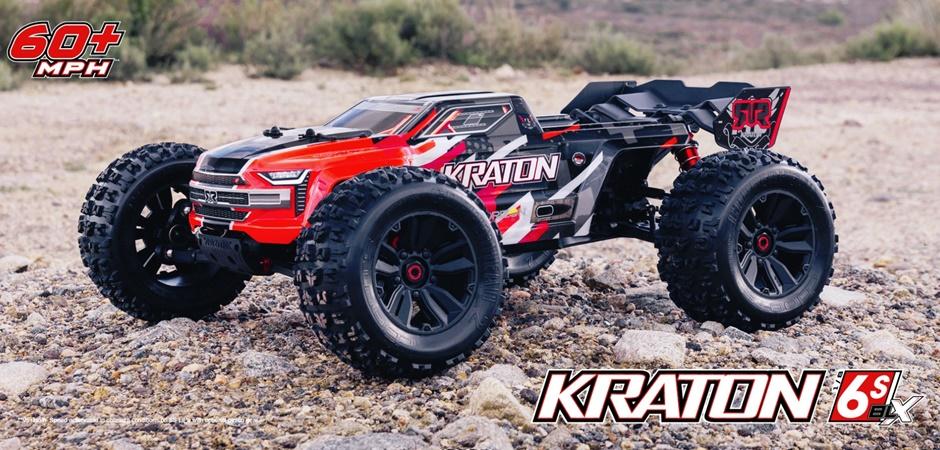 ARRMA KRATON 6S BLX 4WD RTR 1:8