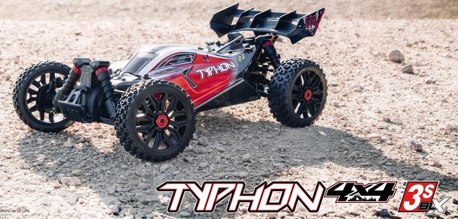 ARRMA TYPHON 3S BLX 4WD RTR 1:8