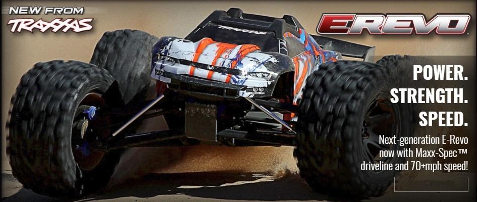 TRAXXAS E-REVO 2 TQi TSM 4WD RTR 1:10