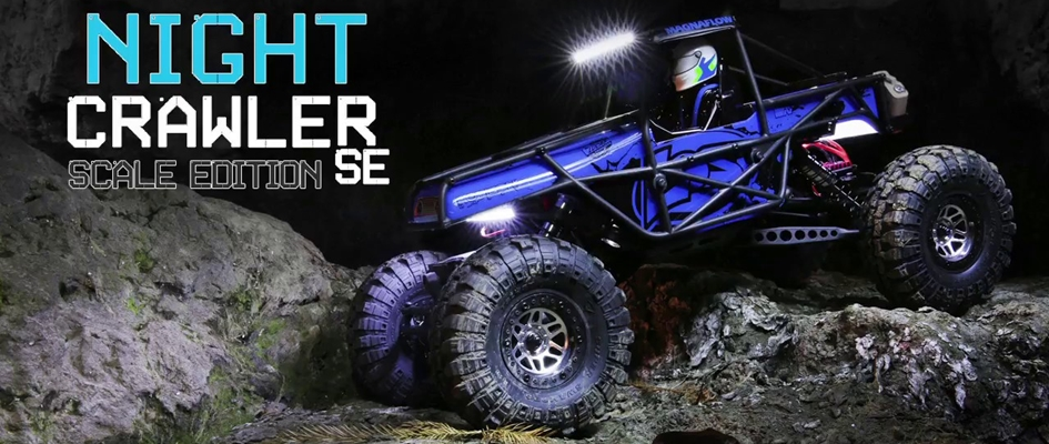 LOSI NIGHT CRAWLER SE 4WD RTR 1:10
