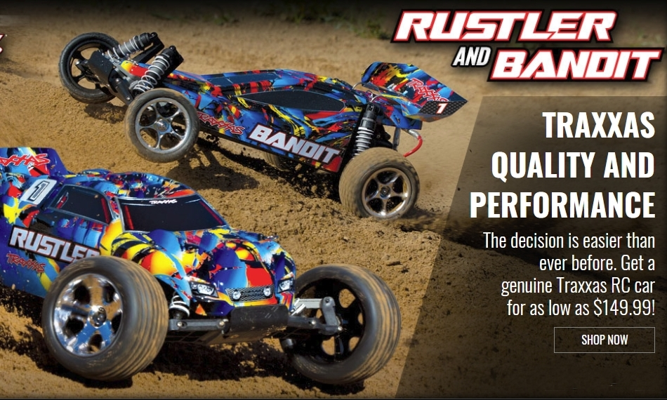 TRAXXAS RUSTLER XL-5 2WD RTR 1:10