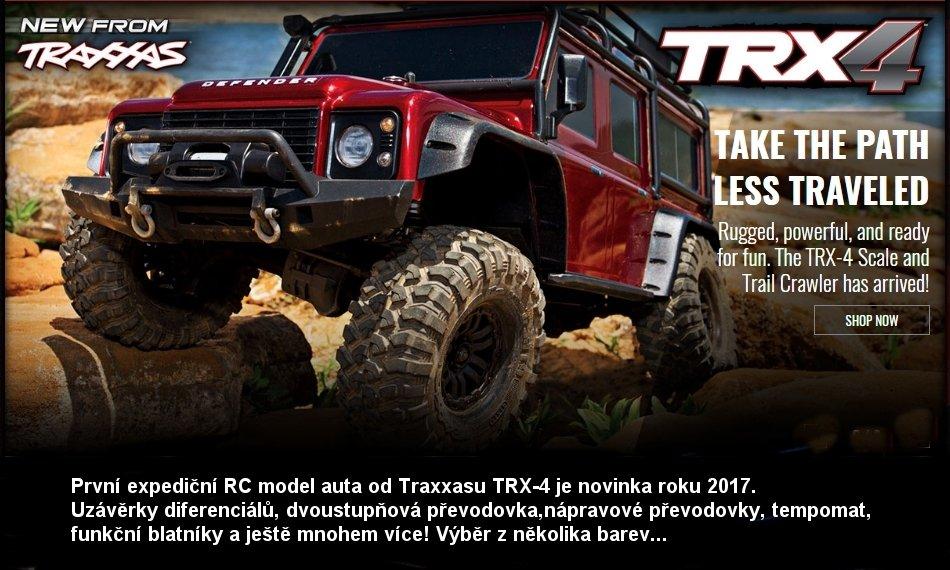 TRAXXAS TRX-4 LAND ROVER DEFENDER TQi 4WD RTR 1:10