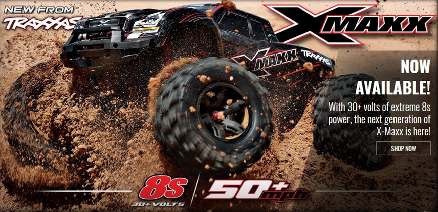 TRAXXAS MONSTER X-MAXX 8S 4WD RTR 1:5