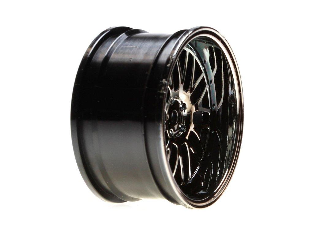 V100: Disk zadní 54x30mm Mesh stříbrný/chrom (2)